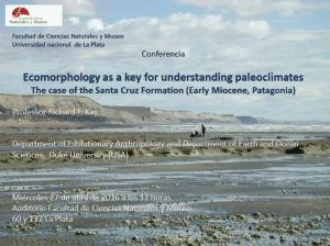 Conferencia sobre Ecomorfología